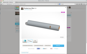 Screenshot Tinkercad