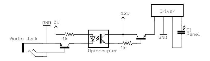 El loudspeaker circuit